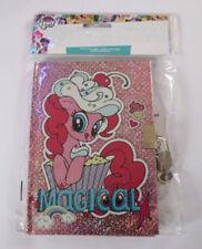 My Little Pony Secrets Notebook & Pencil Set Padlock Princess Diary Girls Gift