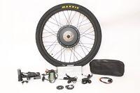 48V 1500W 26 Zoll Hinterrad E-Bike ebike Umbausatz mit Reifen und Schlauch Neu