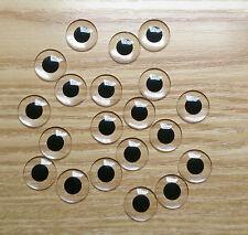 Black small pupil acrylic blank Blythe eye chips for Custom Use(1 Pair)