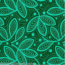 Amy Butler - Leaf Lines - Jade, cotton quilting fabric