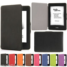 Amazon Kindle Paperwhite 1/2/3 Protective Case Cover Faux Leather