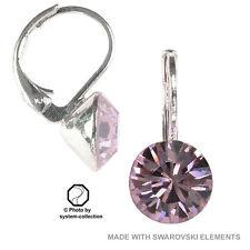 orecchini con Swarovski Elements, Colore: Ametista Chiaro