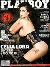 Playboy MEXICO 10/2011   CELIA LORA & NINA OSENAR  Oktober/2011