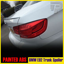 PAINTED E92 BMW COUPE M3 TYPE TRUNK REAR SPOILER 300 WHITE ▼