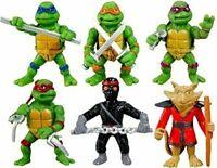 Teenage Mutant Ninja Turtles Movie Mini Figure Leo Ralph Mikey Splinter Donnie