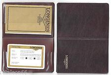 LONGINES 100% genuine vintage watch user's guide / papers UNUSED 1.986