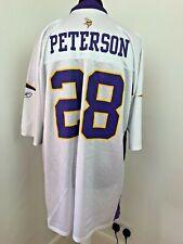 Minnesota Vikings Jersey American Football Shirt NFL jersey Peterson 28 Size XXL