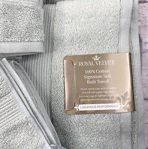 New JcPenny Royal Velvet Perfect Aqua 2 Bath Towels 2 Hand Towels 2 Wash Cloths