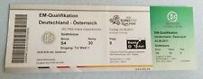 Los coleccionistas used ticket UEFA Euro 2012 q Germany-austria alemania austria