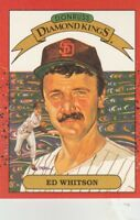 FREE SHIPPING-MINT-1990 Donruss #26 Ed Whitson San Diego Padres DIAMOND KINGS