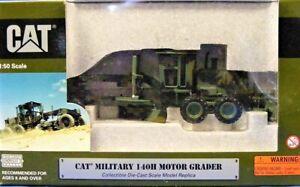 Norscot 55111 Caterpillar 140H Grader Military Camouflage 1/50 Die-cast MIB