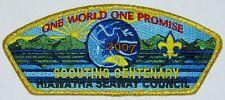 Hiawatha Seaway Council (NY) SA-83 2007 Scouting Centenary CSP  BSA