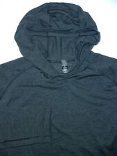 Lululemon Hoodie Hoody Athletic Sweater -L- Black Gray -Golf -Workout- Gym -Run