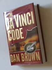 DAN BROWN - THE DA VINCI CODE. SIGNED. TRUE 1/1. H/B. USA. 2003. FLYER/TICKET.