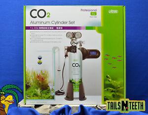 ISTA Professional CO2 Aluminum Cylinder Set - 1L Face-Side  (24oz.)
