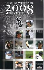 2008 Chicago White Sox Media Guide with Jim Thome and Ozzie Guillen on Cover