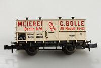 Minitrix N 13643 Meierei C.Bolle K.P.E.V Berlin 600 215 Top! Schmutz/Kratzer/OVP