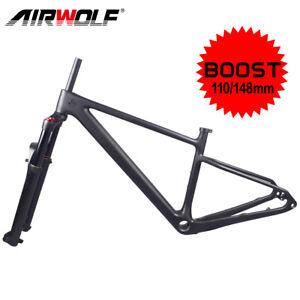 MTB 29er Boost T1000 Carbon Frame + Air Suspension Fork Mountain Bike Frameset