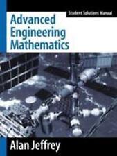 Advanced Engineering Mathematics by Alan Jeffrey (2001, Paperback, Student...