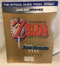 THE LEGEND OF ZELDA A LINK TO THE PAST + FOUR SWORDS STRATEGY GUIDE + POSTER