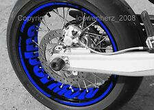 Aufkleber Felgenaufkleber Supermoto MZ 125 SM SX RT 660 Baghira Mastiff Sticker