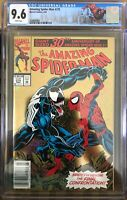 Amazing Spider-Man #375 CGC 9.6 Lethal Protector Tie In Venom Newsstand Variant