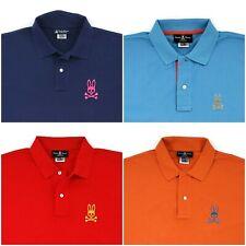 New Psycho Bunny Big Bunny Logo Classic Fit Polo Shirt Knit Men's Size 9 / 3XL