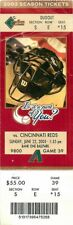 Ticket Baseball Arizona Diamondbacks 2003 - 6/22 - Cincinnati Reds