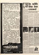 Dr. Feelgood Kokomo Winkies Chilli Willi MM4 Article Neutrons LP advert 1974