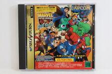 Marvel Super Heroes Vs Street Fighter Sega Saturn Ss Japan Import G7475