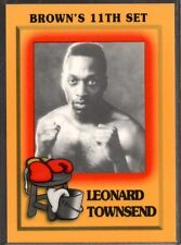 1997 Brown's Boxing #79 Leonard Townsend