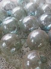 "Japanese Glass Fishing Floats 2"" Lot-15 Dirty Plain Rust Tar Industrial Grubby!"