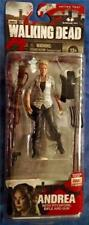 THE WALKING DEAD AMC TV SERIES 4 ANDREA ACTION FIGURE - MCFARLANE