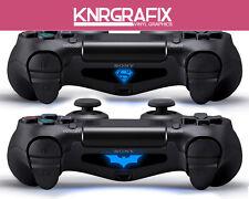KNR4065 BATMAN and SUPERMAN PS4 Dualshock Lightbar Decal Playstation 4