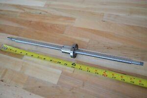NEW! Hiwin S14015P x506mm Precision Rolled Ballscrew 15mm dia. - THK CNC Router