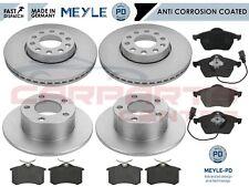 FOR VW PASSAT B5 3B5 3B6 97-05 FRONT REAR MEYLE PD PLATINUM BRAKE DISCS & PADS
