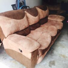 2 recliner couch with a lazy boy That Reclines Plus A coffee table and recline