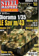 STEEL MASTERS 91 STAGHOUND_ MORRIS COMMERCIAL_USMC AAV7A1_ STORMARTILLERIVAGN