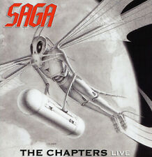 Saga - The Chapters Live CD (2009) German Import 2CD Set & 36 Page Booklet !