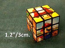 """Cube puzzle teaser Super Mario Luigi Brothers NINTENDO 1.2""""/3cm. NEW"""