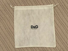 D&G Dolce & Gabbana Shoe / Wallet Dust Bag - White - 8� x 8� - New & Never Used