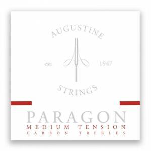 Augustine Paragon Classical Guitar Strings Medium Tension Carbon Trebles Set APR