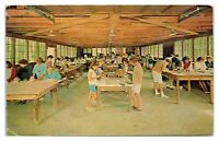 1950s/60s New Jersey 4-H Camp Craft Shop, Branchville, NJ Postcard *5Q4