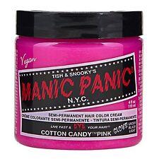 MANIC PANIC Classic Cream Cotton Candy  Pink Semi-Permanent 4oz Vegan Hair Dye.