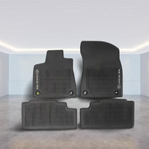 LEXUS  RX350/RX450H 2016-2021 4PCS BLACK ALL WEATHER FLOOR MATS PT908-48168-20