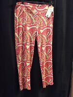 Medium Lulu B Multicolor UPF50 Pants Retail $49 Free Shipping