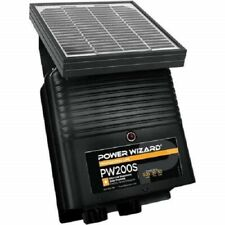 New Listingpower Wizard Electric Fence Energizer Solar Charger Pw200s