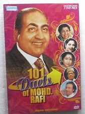 101 Duets of Mohd. Rafi Video Songs 3 DVD India Bollywood