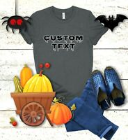 Custom T Shirt, Make Your Own Design, Custom Text, Unisex Bella Canvas 3001