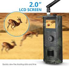 3G SMS GSM 16MP 1080P Video Wildlife IR Trail Hunting Camera H2Y8